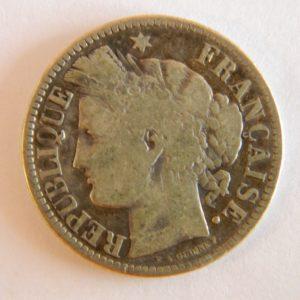 MM015 2 Francs Cérès 1871 K