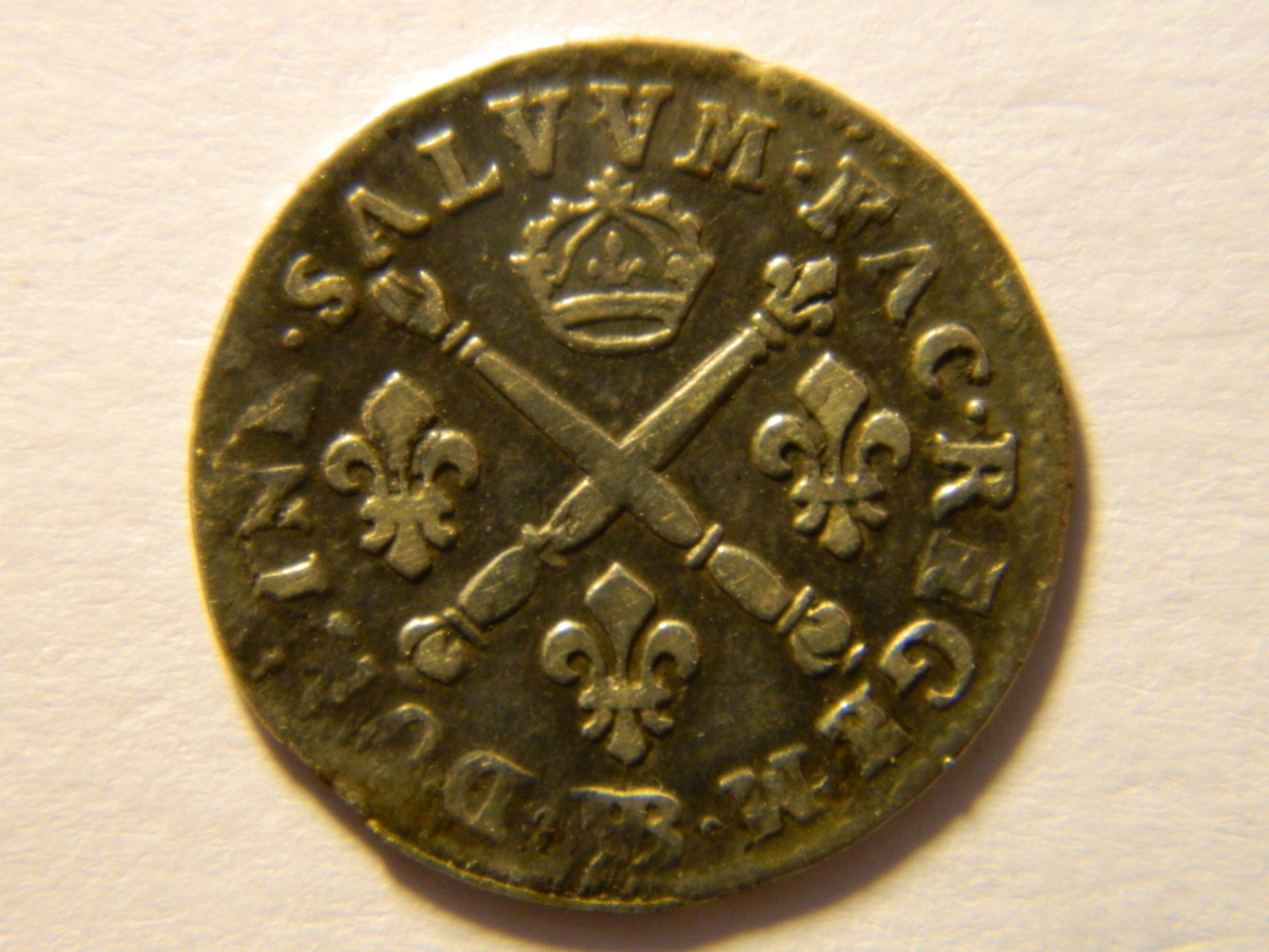 RY009 LOUIS XIV 5 Sols 1703