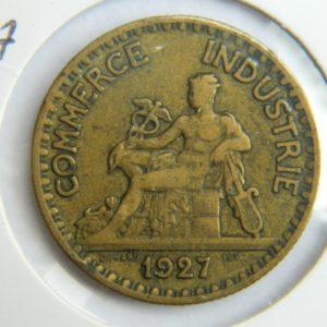 MM024 2 Francs Chambre de commerce 1927