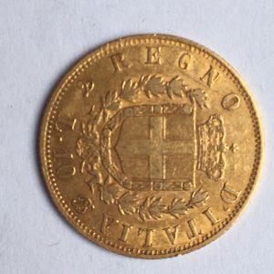 10 lire or 1863