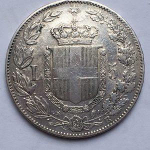 5 lire 1879
