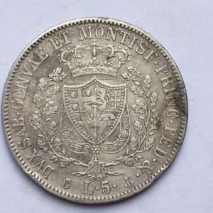 5 lire 1829