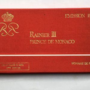 coffret fdc Monaco 1976