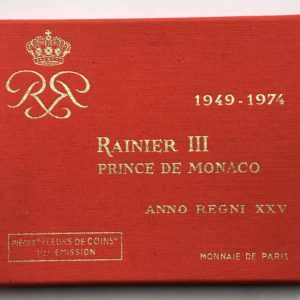 coffret fdc Monaco 1974