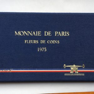 coffret fdc France 1975