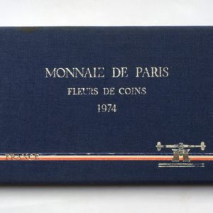 coffret fdc France 1974