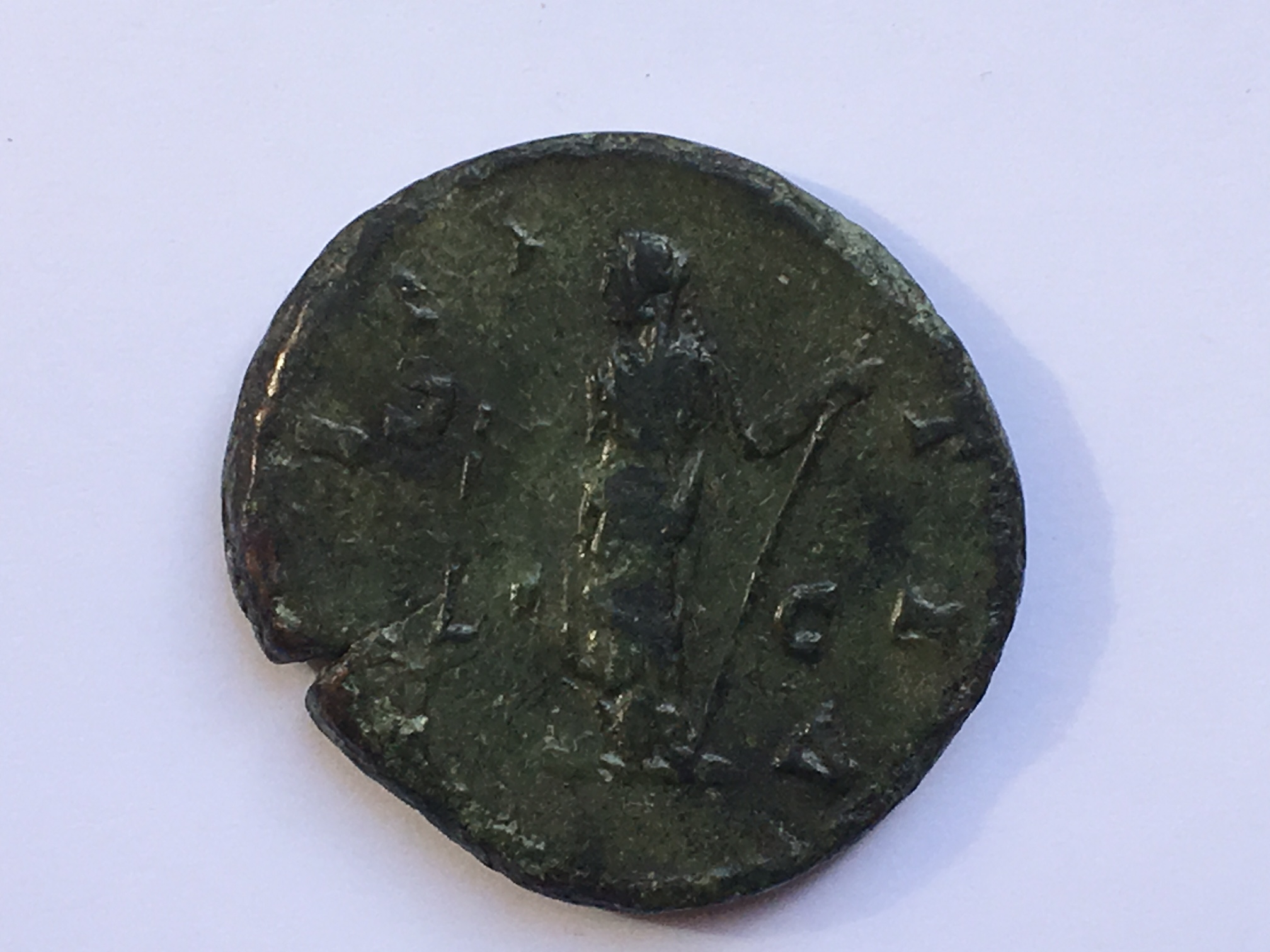 piece de monnaie romaine faustine