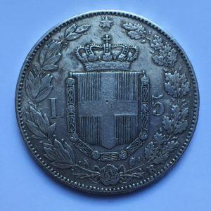 5lire 1879R
