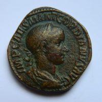 RM029 SESTERCE Gordien III le pieux