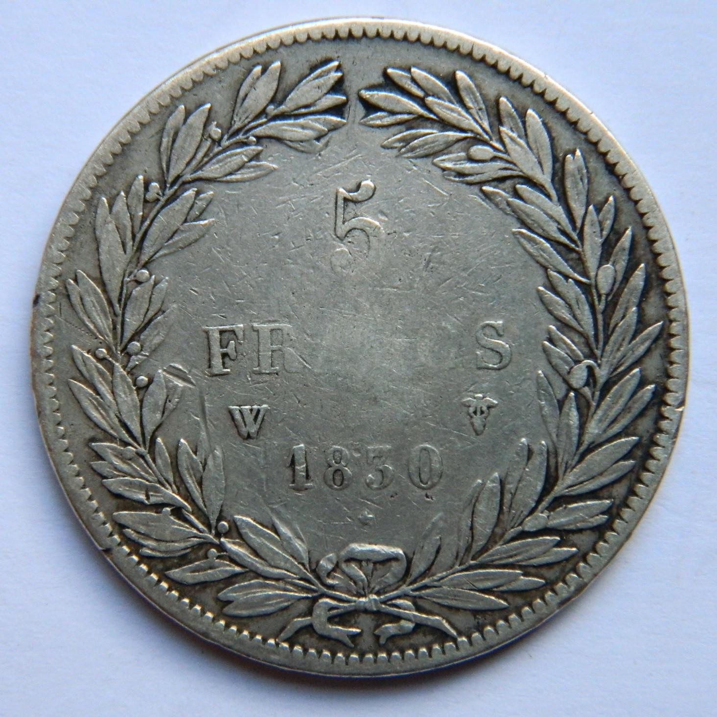 MM026 5 FRANCS LOUIS PHILIPPE SANS I