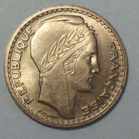 MM032 10 FRANCS TURIN 1945 R. COURTS